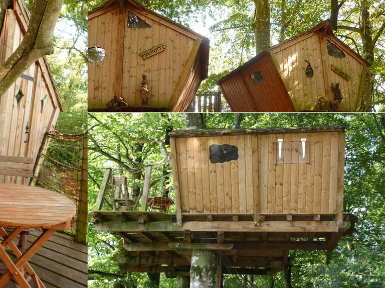 Stay in a tree house in Morbihan