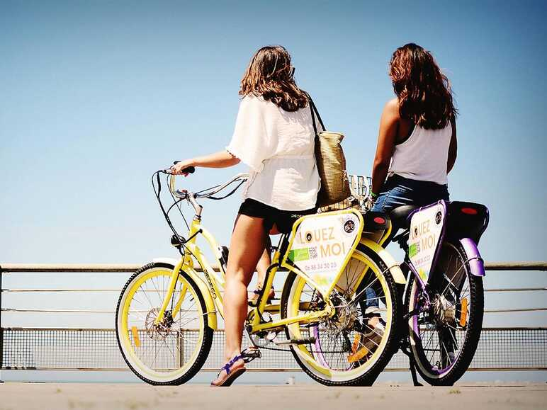 Rent an electric bike